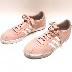 Adidas Pink and White size 9 Sneakers